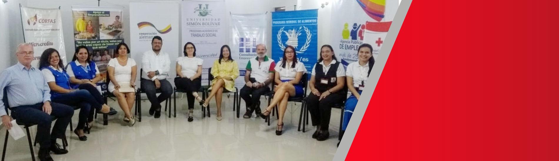 UFPS aliado estratégico en proyecto interinstitucional para la integración económica de población vulnerable