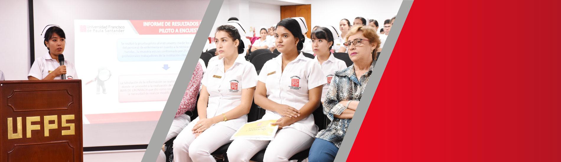 Estudiantes de Enfermería UFPS expusieron ante instituciones de salud resultados de proyectos de extensión social
