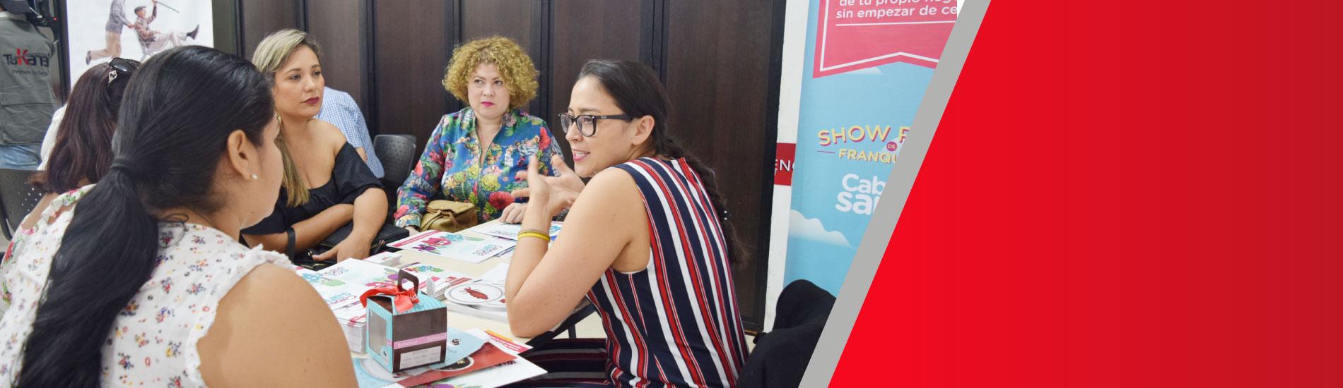 UFPS aliado estratégico en rueda de negocios de microfranquicias