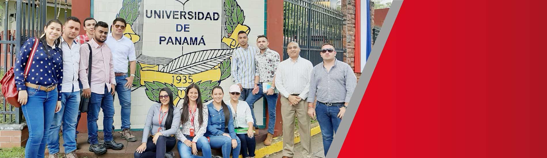 Estudiantes y docente de Ingeniería Ambiental realizaron visitas empresariales internacionales en Panamá