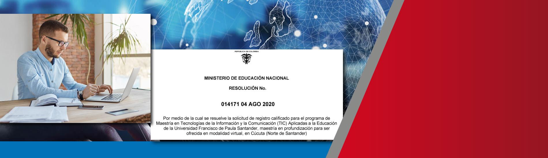 UFPS recibe registro calificado para ofrecer Maestría en TIC aplicadas a la Educación, modalidad virtual