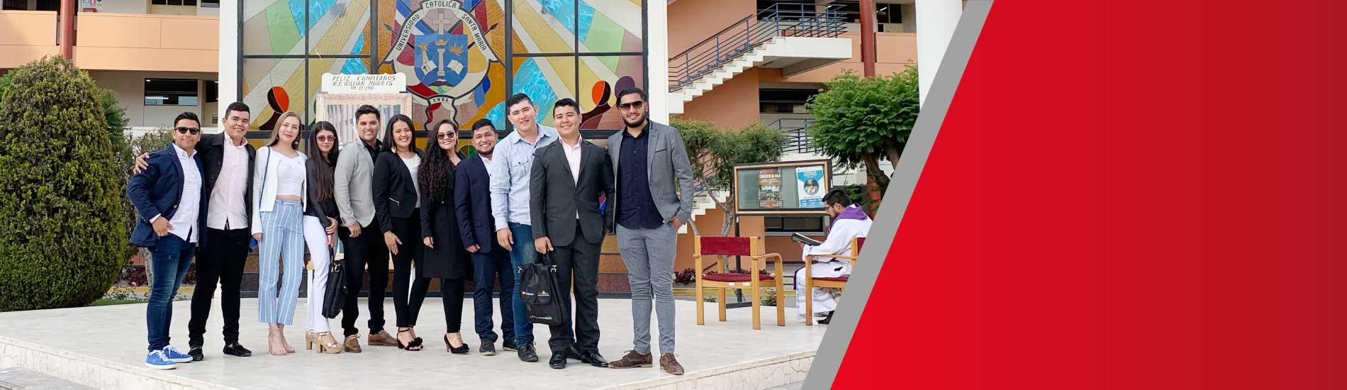 Estudiantes de Ingeniería de Minas participaron del XV CONEIMIN 2019 realizado en Perú